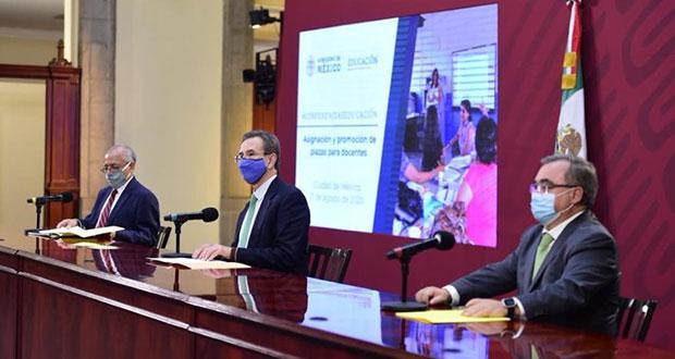 Van 61 mil por plazas docentes; no hay pase automático: SEP