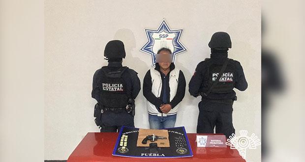 """Detienen armado al """"Sapo"""", presunto sicario en Lomas de San Miguel"""