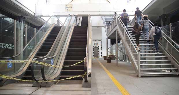Costará 11 mdp cambiar escaleras de paradero Juárez de RUTA