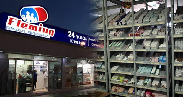 Farmacias Fleming, con desabasto de medicamentos para Covid, acusan