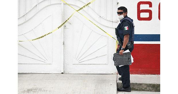 Hallan a dos asesinados dentro de ferretería en la Prolongación Reforma