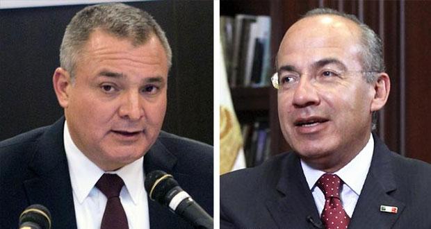 Sin enojarse, que Calderón nos diga lo que sabe de García Luna: AMLO