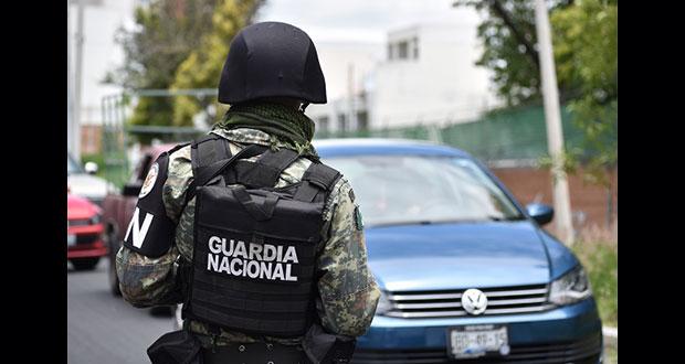 GN detiene a 2 policías estatales de Puebla por extorsión
