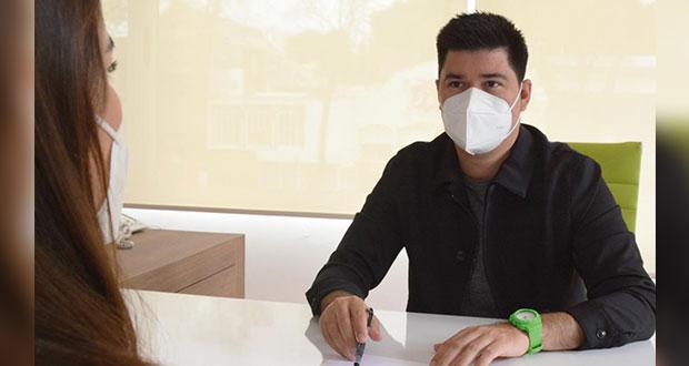 Partido Verde exhorta a poblanos a usar cubrebocas