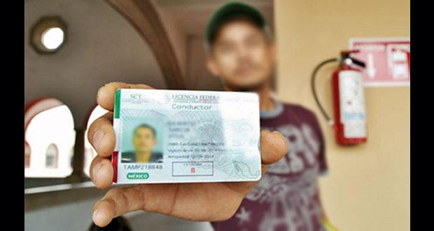 Licencia federal de conductor no pierde validez por pandemia: SCT