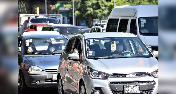Licencias de conducir vencidas en Puebla se podrán utilizar hasta noviembre
