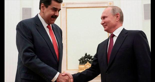 Maduro dice que será el primer venezolano en aplicarse vacuna rusa