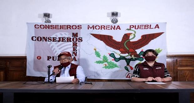Consejeros de Morena piden a militantes cerrar filas ante consulta