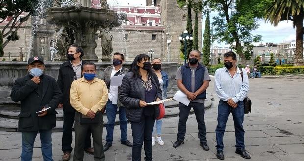 Músicos poblanos acusan falta de apoyos del gobierno; exigen despensas