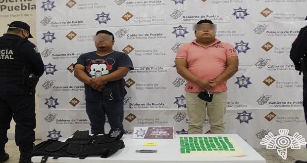 SSP detiene a líder criminal y su hermano en Tepeaca