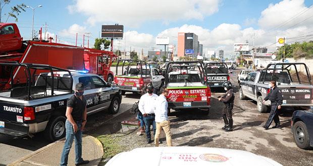Con operativo, San Andrés y gobierno estatal van contra taxis piratas