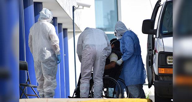 288 contagios y 52 muertes de Covid en un día en Puebla: Federación
