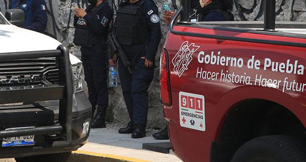 Dos policías estatales, detenidos por intento de homicidio y extorsión: SSP