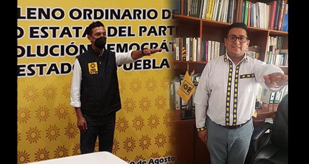 Se queda Martínez como líder del PRD; Vladimir Luna, secretario