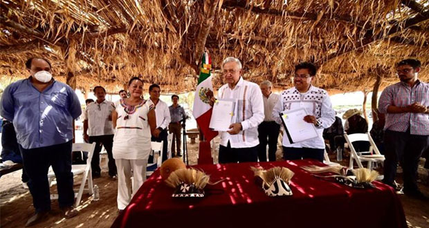 Habrá Comisión de Justicia para restituir tierras a pueblos yaquis: AMLO