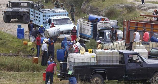 Con 2,186 denuncias, Puebla es segundo en robo a hidrocarburos: Federación