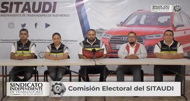 Inicia renovación del Sindicato de Audi México; dirigente busca reelección