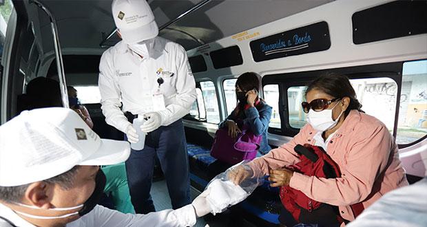 Por incumplir sana distancia, 240 transportistas infraccionados: SMT