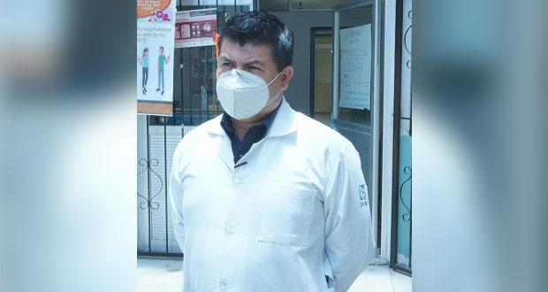 Continúa atención a pacientes en unidad de IMSS Cuautlancingo
