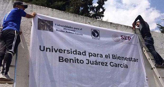 Listas, 4 Universidades Benito Juárez en Puebla; Chignautla, no