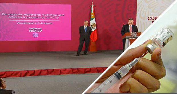 México probará vacuna Covid en fase 3; hay 100 mmdp para su compra