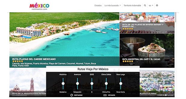 Tras daños a imagen turística, reactivan página Visit México