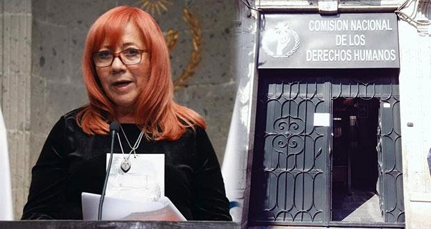 CNDH atenderá peticiones de víctimas que tomaron oficinas en CDMX