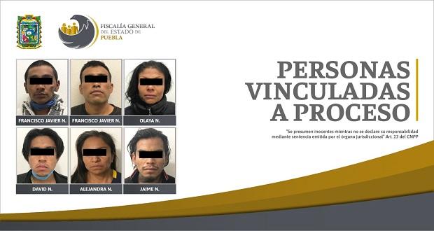 FGE desarticula banda de secuestradores en Almecatla; van a prisión