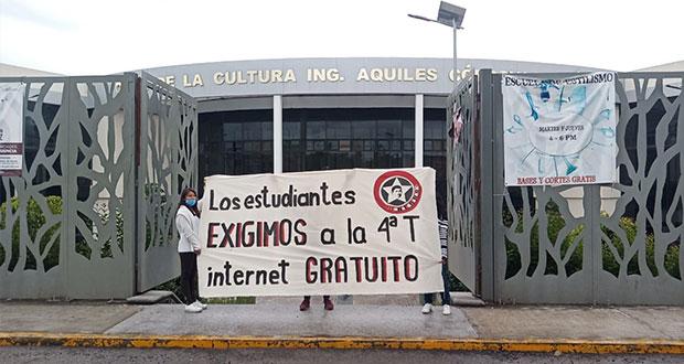 Pide Fnerrr internet gratuito para estudiantes de Puebla