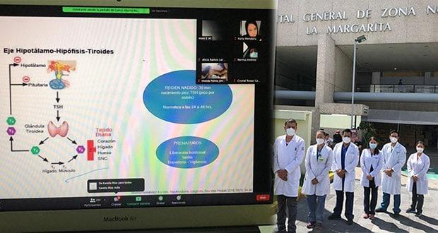 Personal de IMSS La Margarita es capacitado de manera virtual