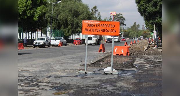 Invierte Comuna 101 mdp para rehabilitar avenida Xonaca