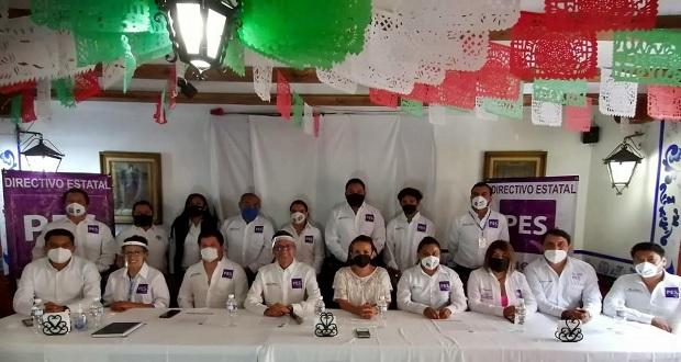 Tras obtener registro, PES de Puebla participará en las elecciones