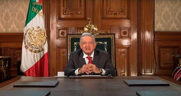 Pese a crisis, cuarta transformación avanza en México: AMLO a ONU