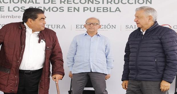 Puebla, a la baja en Covid y superando crisis económica; no confiarse: AMLO