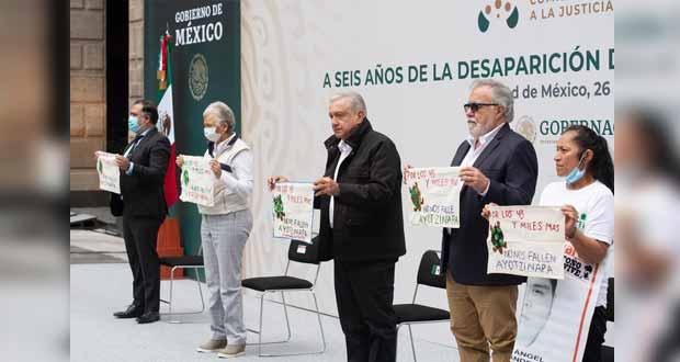 Se capturará a militares por caso Ayotzinapa; padres validarán: AMLO