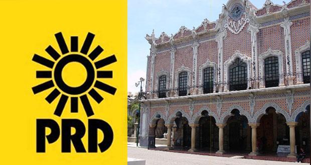 Violentaría el Estado de Derecho disolver Cabildo de Tehuacán: PRD
