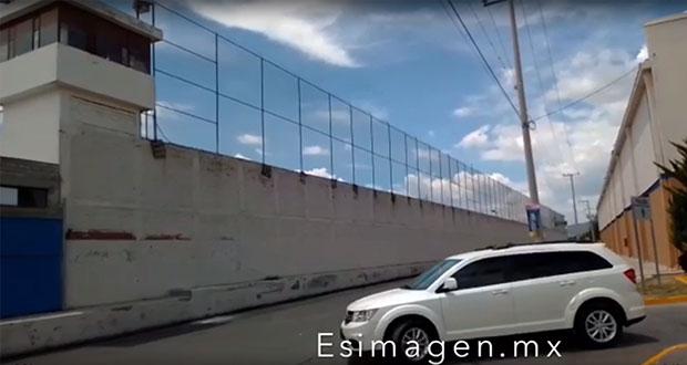 Tras videoescándalo, sale director de penal de Tehuacán y llega Cuautle