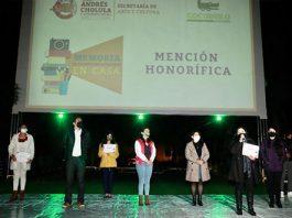 Proyectan cineminutos sobre la cuarentena en San Andrés Cholula