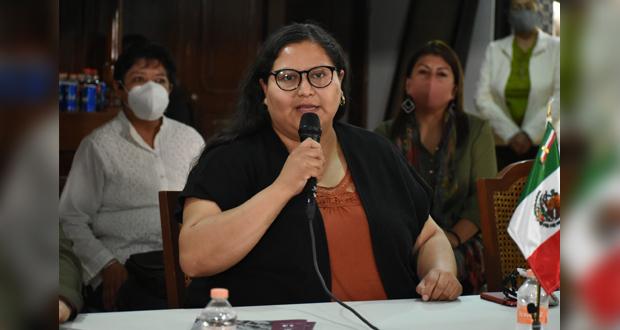En Puebla, pide apoyo Hernández, aspirante a secretaría de Morena
