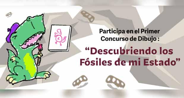 """""""Descubriendo los fósiles de mi estado"""", concurso de dibujo infantil"""