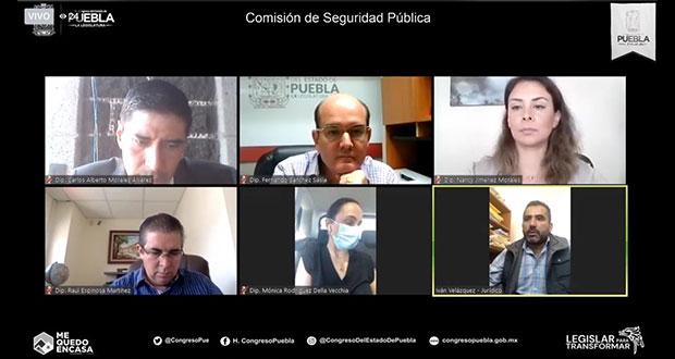 Congreso pide a SSP módulos médicos para detectar Covid en policías