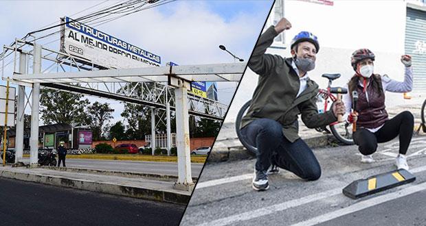 Comuna reemplazará 5 puentes peatonales por cruceros seguros