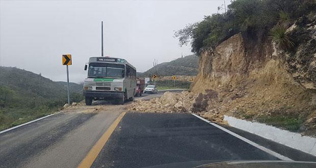 Evacúan nueve viviendas en Cohetzala por lluvias del sábado