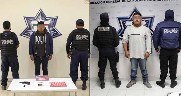 Detienen a huachigasero y narcomenudista en Puebla capital