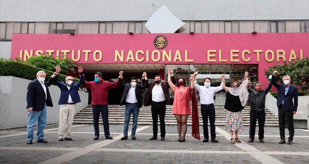 INE aprueba a 71 candidatos a CEN de Morena; Rojas impugnará