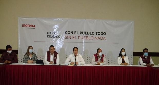 Delgado llama a la unidad en Morena de cara a renovar el CEN
