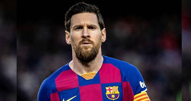 """""""Por amor"""" al Barcelona, Messi no abandonará el club"""