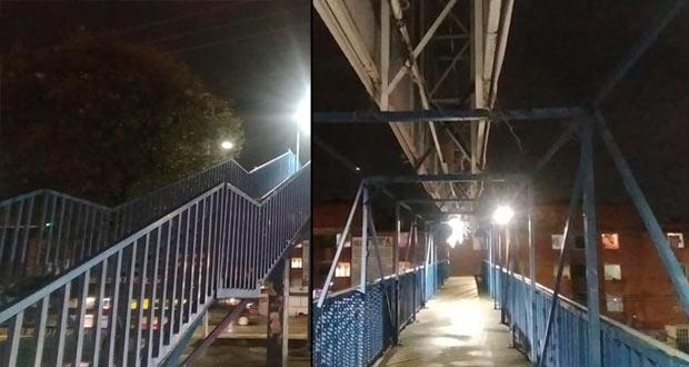 """Rechazan retiro de puente peatonal en La Margarita; """"salva vidas"""""""