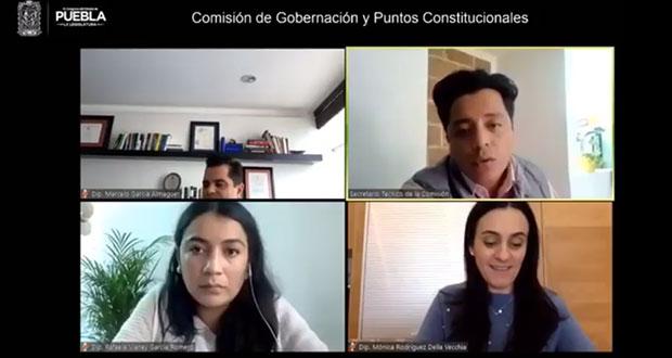 En Comisión, acuerdan disolver Cabildo de Tehuacán; acusan desacato a SCJN