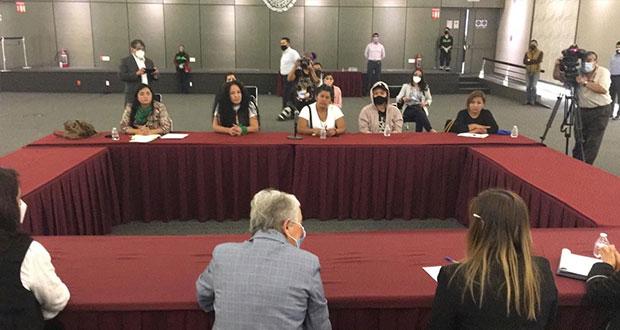Segob anbre diálogo con mujeres que tomaron CNDH y promete diálogo